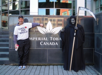 Errol and Death at Imperial Tobacco